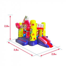 Achat Chateau Gonflable Cirque : dimensions