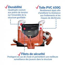 Achat Château Gonflable Chien Câlin : sécurité renforcée