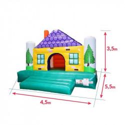 Achat Chalet Maison Gonflable : dimensions