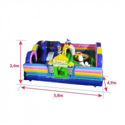 Achat aire de Jeux Gonflable Parc des Animaux : dimensions