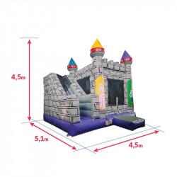 Achat Château Gonflable des Chevaliers : dimensions