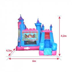 Achat Château Gonflable Princesse : dimensions
