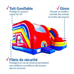 Achat Château Gonflable Ovni : points forts