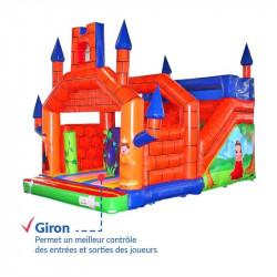 Achat Château Gonflable Médiéval : sécurité renforcée