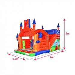 Achat Château Gonflable Médiéval : dimensions