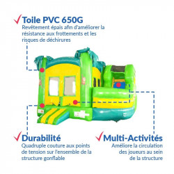 Achat Château Gonflable Jungle : points forts