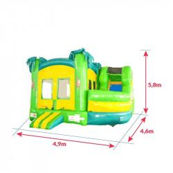 Achat Château Gonflable Jungle : dimensions