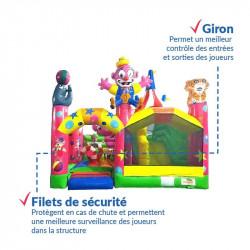 Achat Château Gonflable Fête du Cirque : Qualité Professionnelle