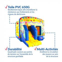 Achat Château Gonflable Festif : qualité premium