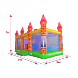 Achat Château Gonflable Dragon Médiéval : dimensions