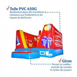Achat Chateau Gonflable Anniversaire 6m : sécurité renforcée