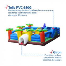 Achat Aire de Jeux Gonflable : qualité premium