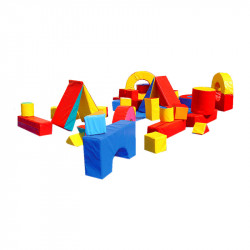 Jeu de construction géant mousse 40 pcs