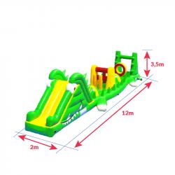 Achat Parcours Aquatique Crocodile : dimensions