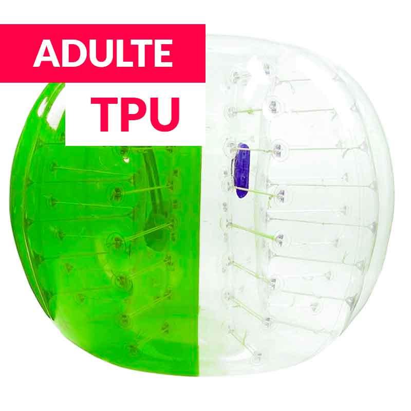 Achat Bubble Foot Adulte TPU Bicolore Vert