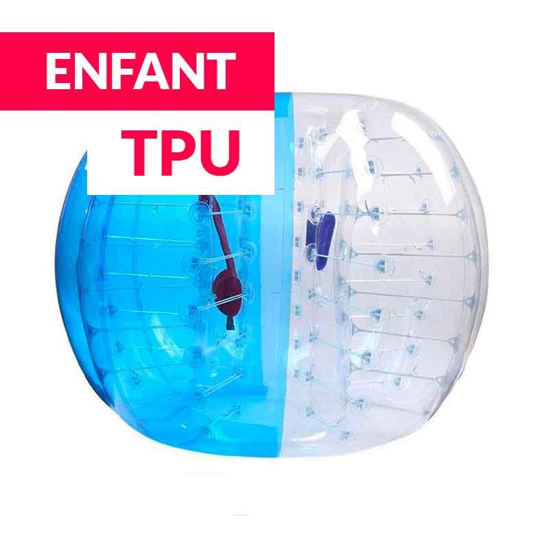 Achat Bubble Foot Enfant TPU Bicolore Bleu