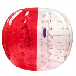Achat Bubble Foot Adulte TPU Bicolore Rouge