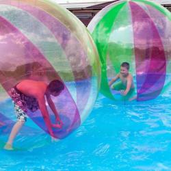 Achat Waterball PVC 2m Bicolore Orange, Bulle Aquatique