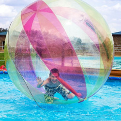 Achat Waterball PVC 2m Bicolore Rouge