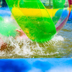 Achat Waterball TPU 2m Bicolore Bleu