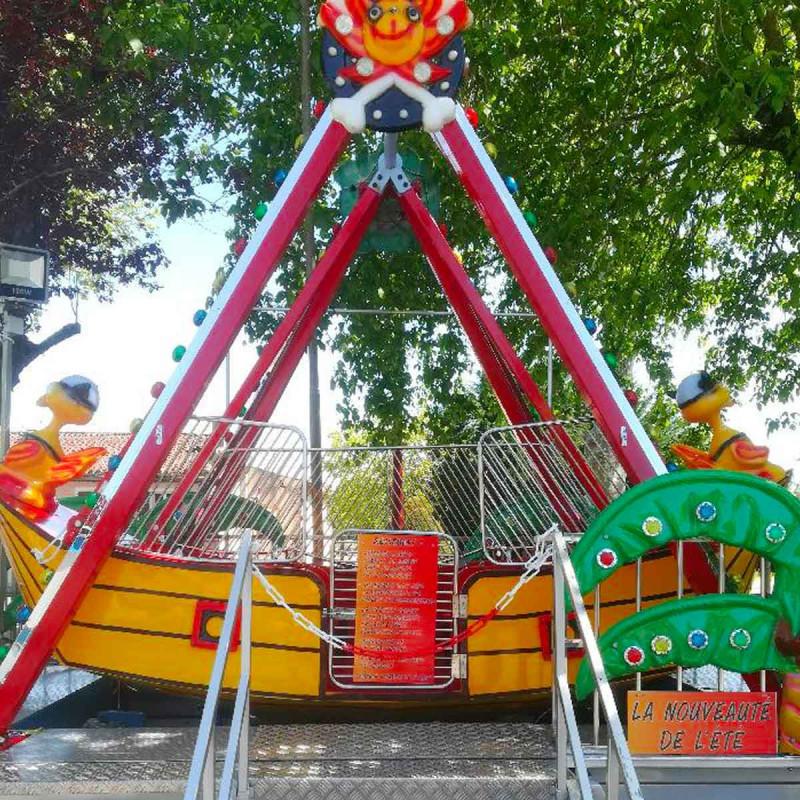 Location Manège Bateau Pirate pour enfants