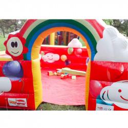 Location Mini Parc Arc en Ciel Petite Enfance avec Equipements de Jeux