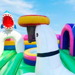Location Aire de Jeux Gonflable - Le Parc des Animaux