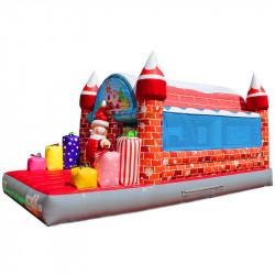 Château Gonflable Père Noël