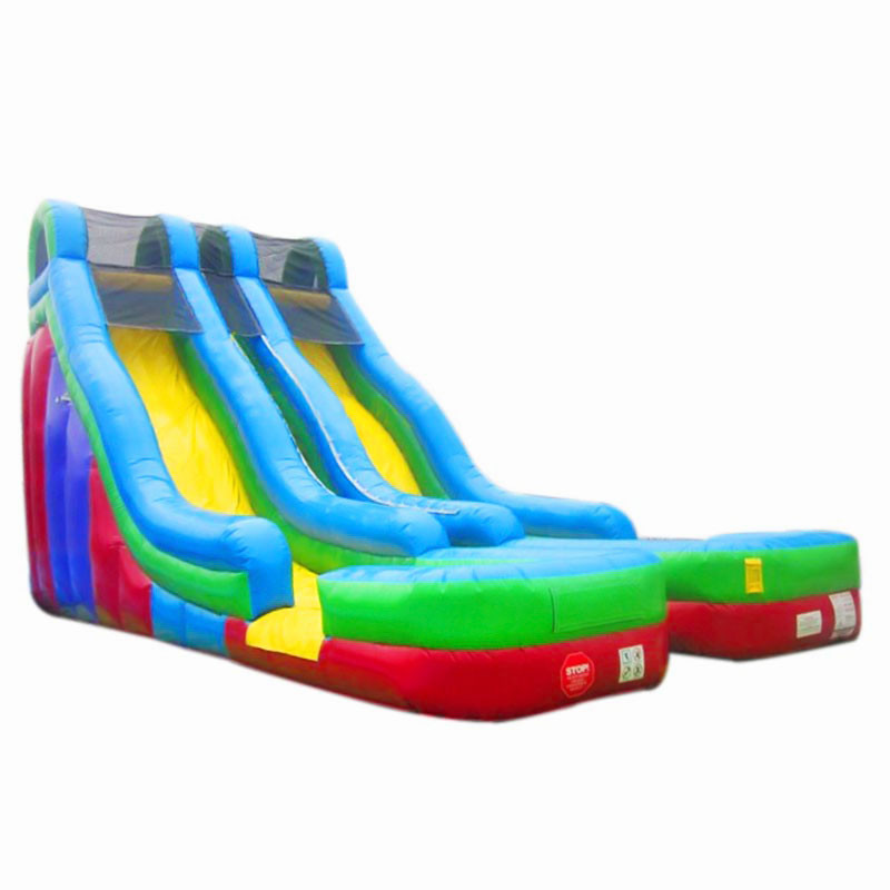 Toboggan Bassin Double Splash