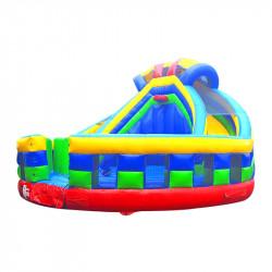Toboggan Gonflable Jump Basket