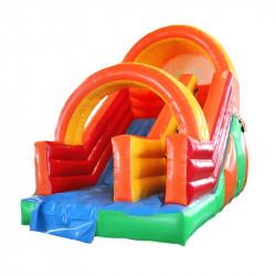 Toboggan Gonflable Cirque