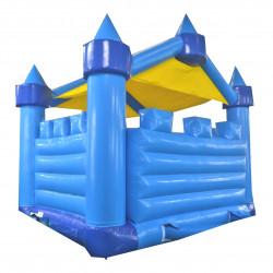 Un château gonflable disponible à l'achat petit et costaud
