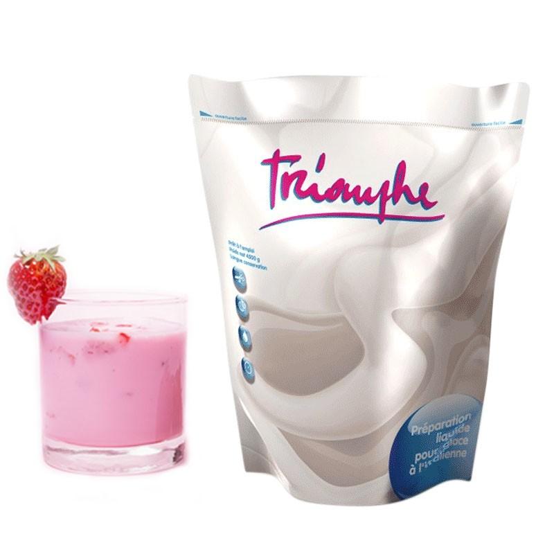 Achat Mix à Glace Italienne Frozen Yogurt Fraise